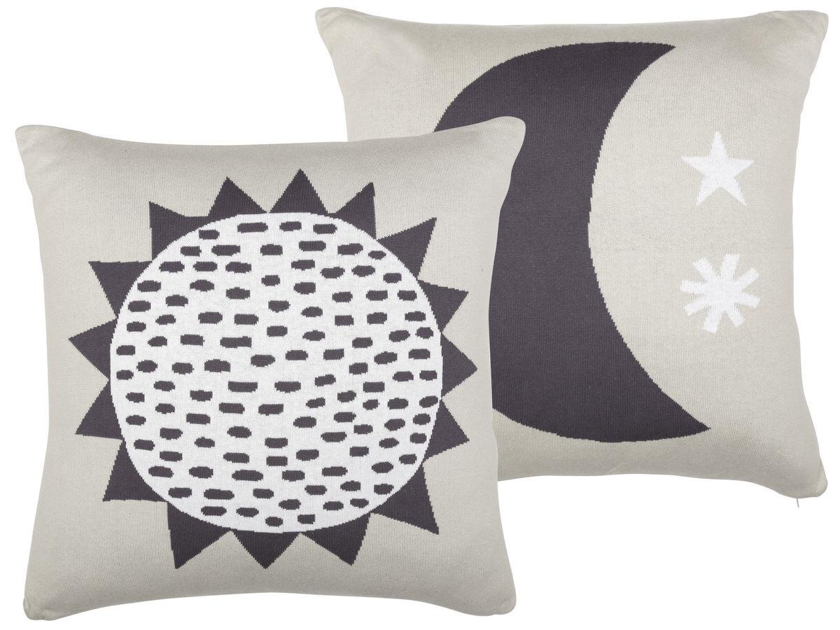 sun pillow black