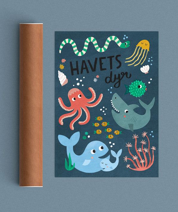 Havets dyr tube