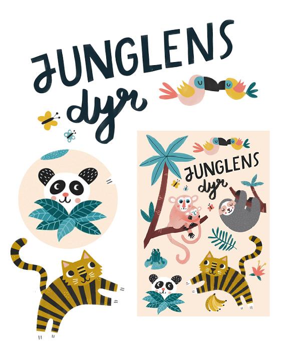 Junglens dyr 1