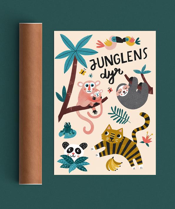 Junglens dyr tube