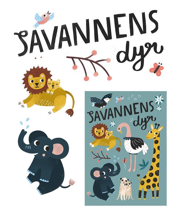 Savannens dyr 1