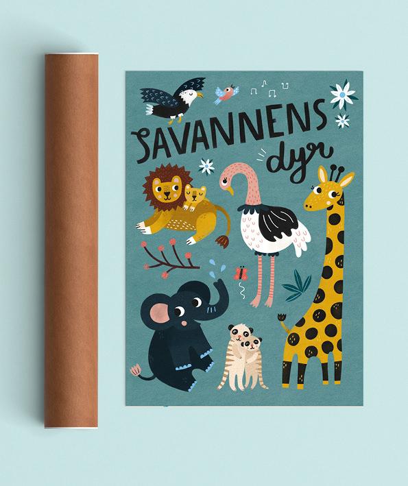 Savannens dyr tube