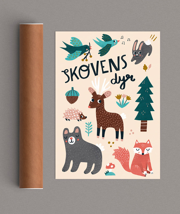 Skovens dyr tube