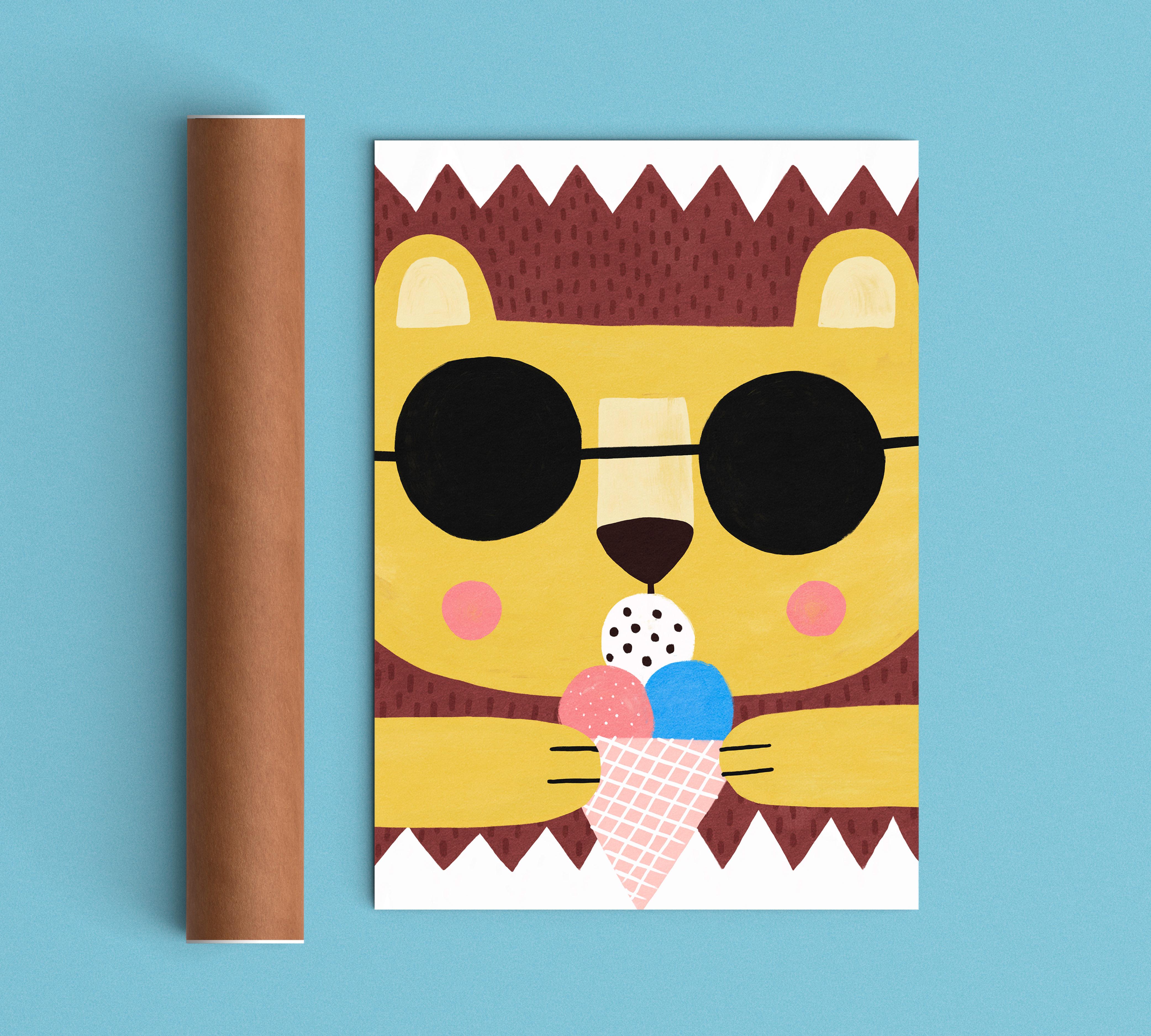 summer lion tube