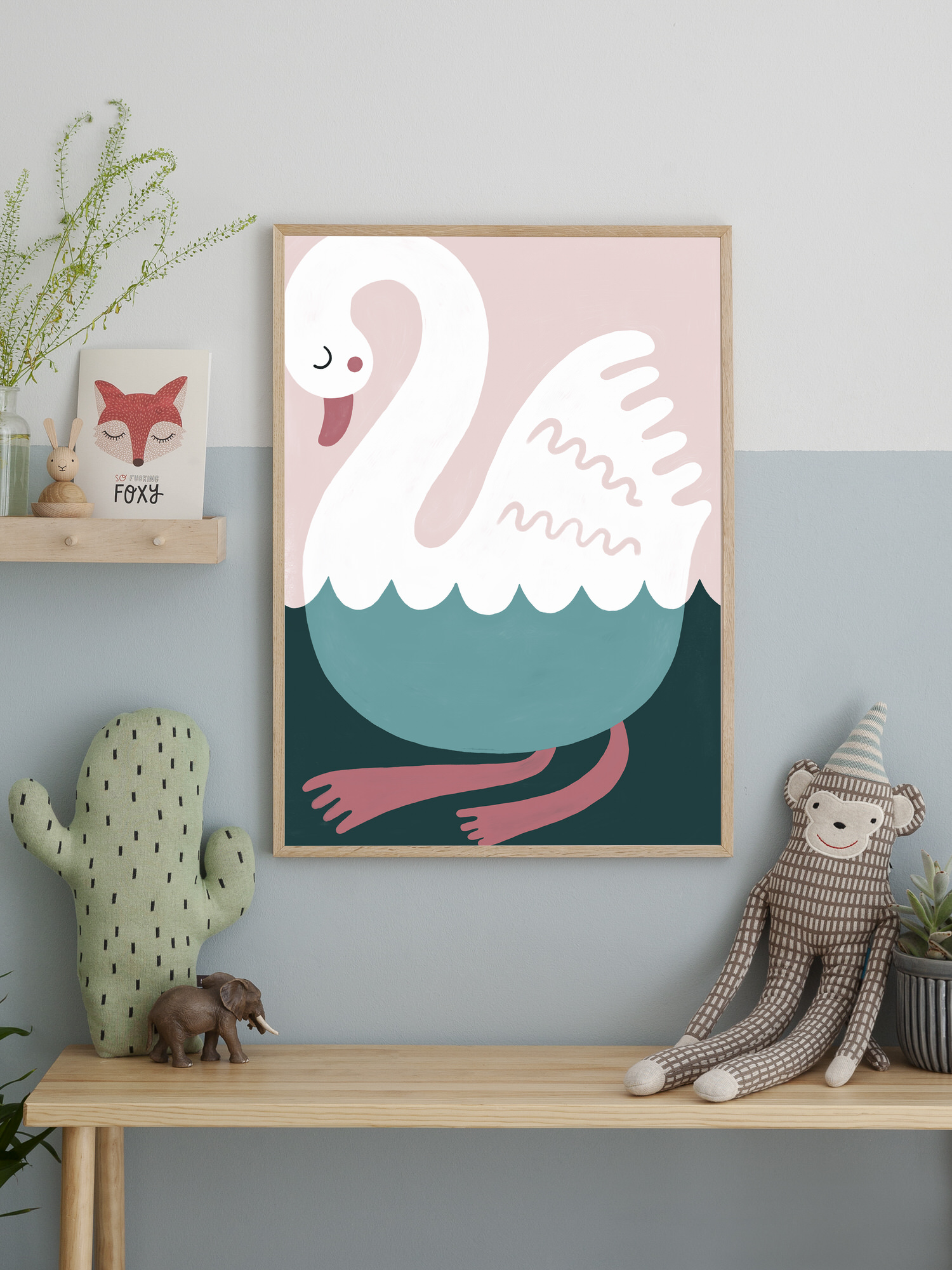 swimming swan lifestyle highres